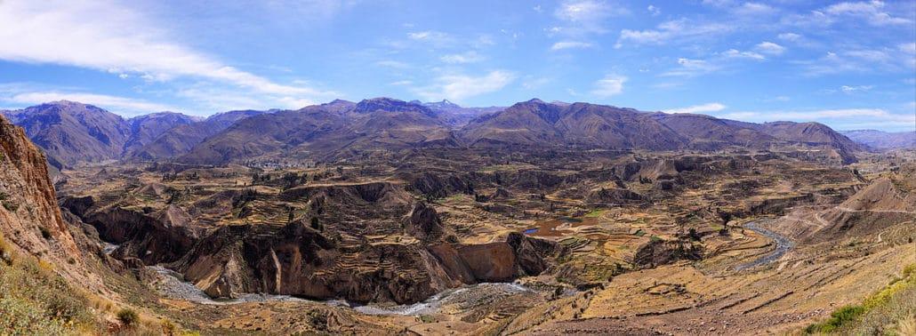 canyon del colca trek pérou