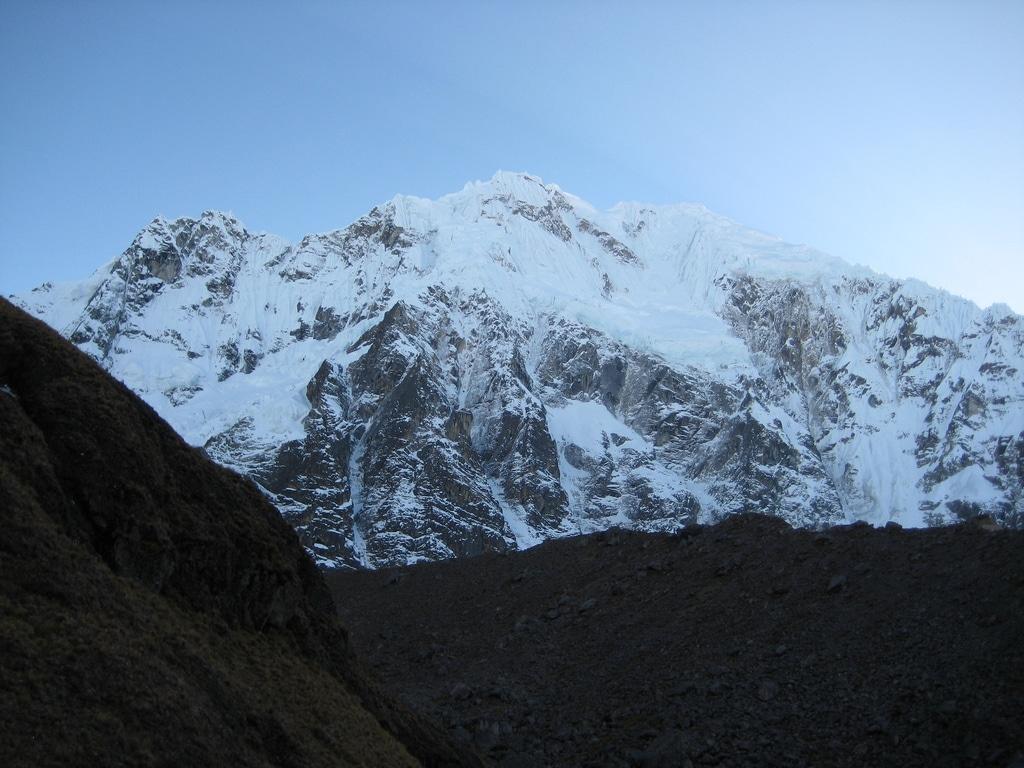 glacier de salkantay   trek au pérou cordillère de vilcabamba