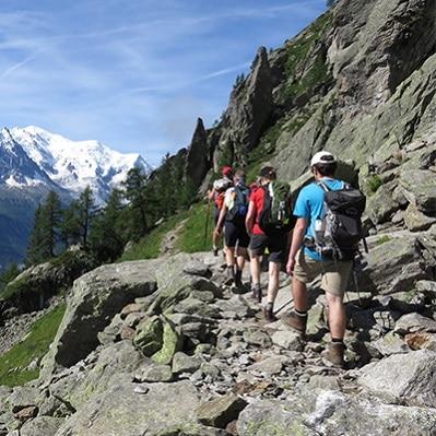 Le Tour du Mont Blanc avec Watse