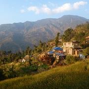 village trek népal langtang