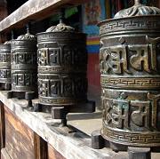 trek au langtang népal, temple