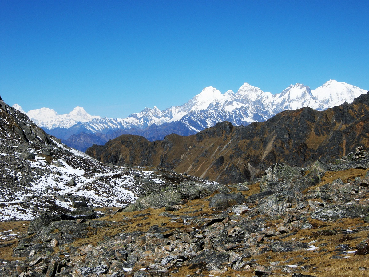 trek au langtang hauts plateaux du Gosaikunda