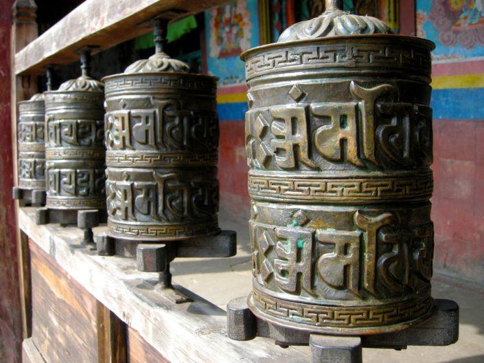 Temple du Népal