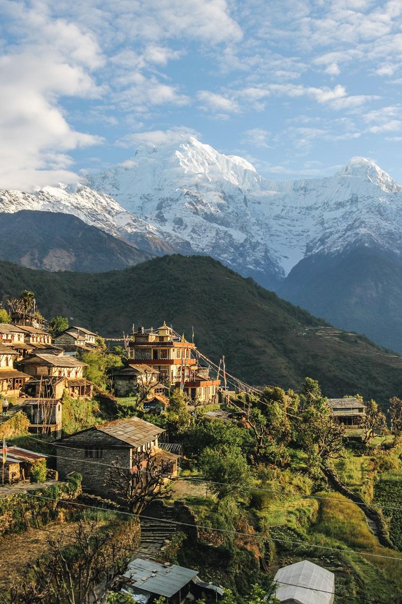 Trek au Népal   Balcon des Annapurnas