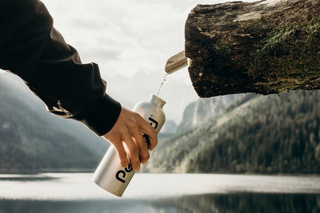 boire en randonnée