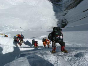 grimpeurs mont everest