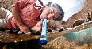 lifestraw paille filtrante eau randonnée