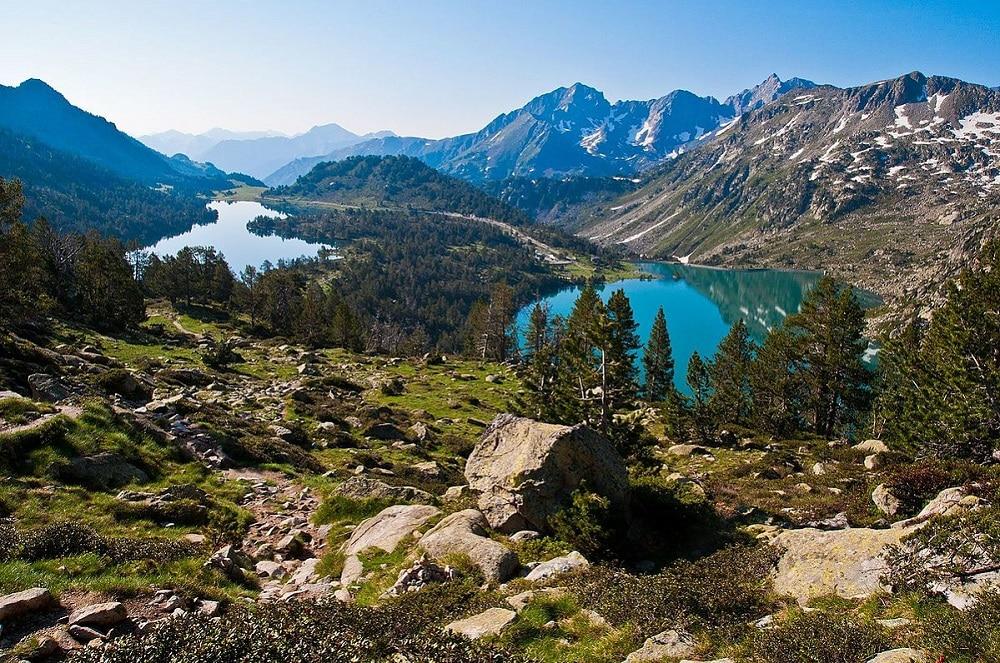 lacs d'aumar et lacs d'aubert