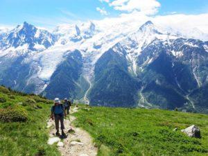 tour du mont blanc Aiguillette des Houches