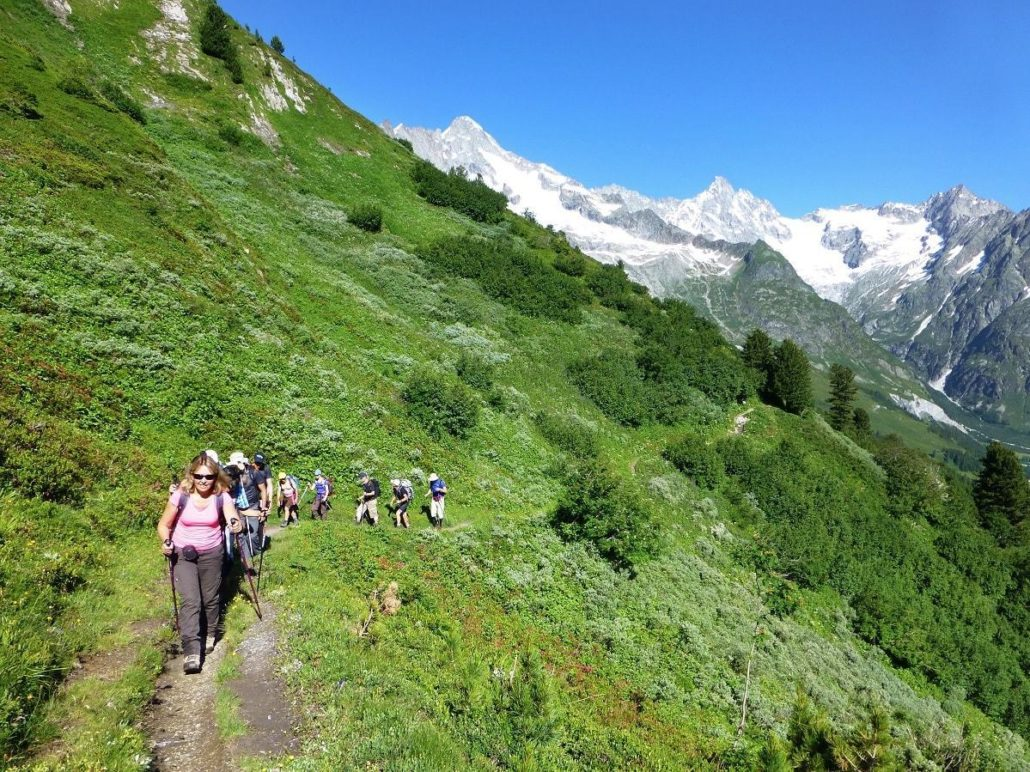Vers-La-Peule sur le tour du mont blanc