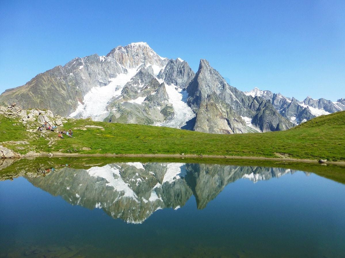 Vers le Col Chécroui sur le Tour du Mont Blanc
