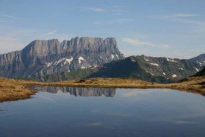 Lac d'aterne tour du valais haut giffre