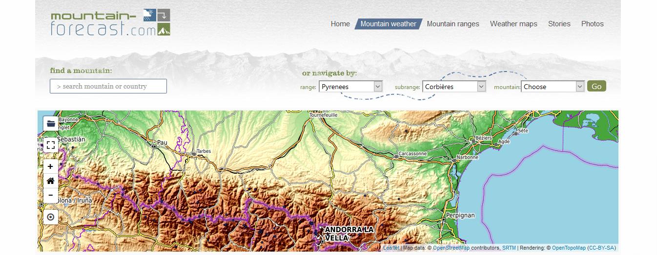 Moutain Forecast - Watse Trekking et randonnées