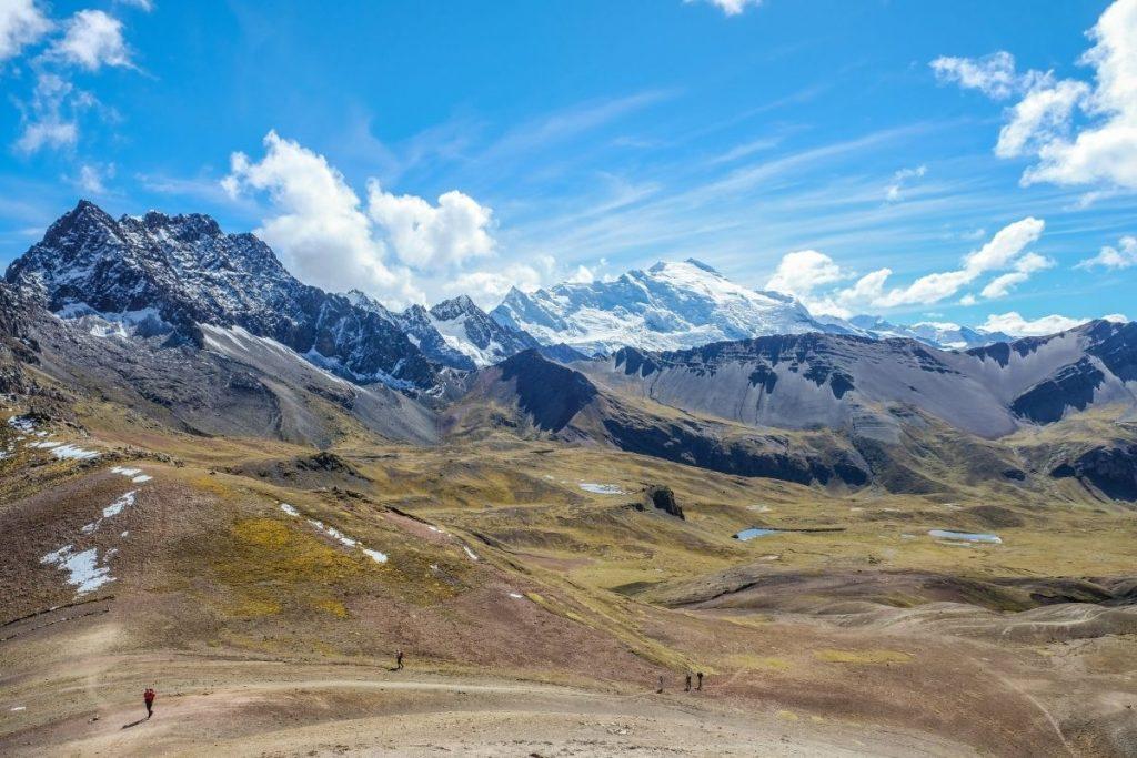 Paysages du trek au Pérou du Tour de l'Ausangate