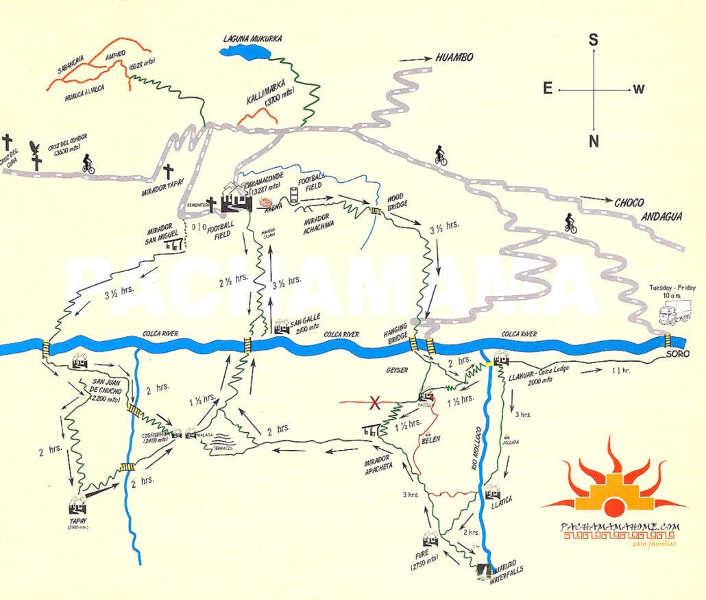 trek dans le sud du Pérou - canyon del colca