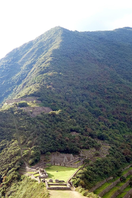trek dans le sud du pérou - site de choquequirao