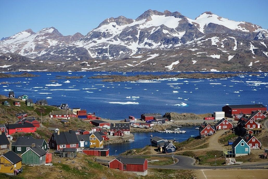 Tasiilaaq - village de la côte est Groenland