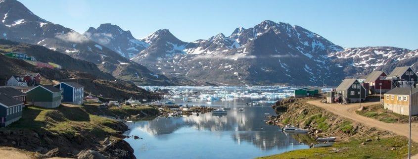 Voyage et randonnée sur la côte est du Groenland