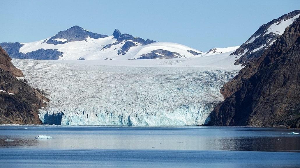 Randonnée est Groenland - glacier