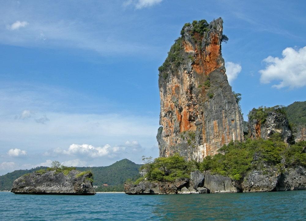 Escalade à Krabi Thaïlande