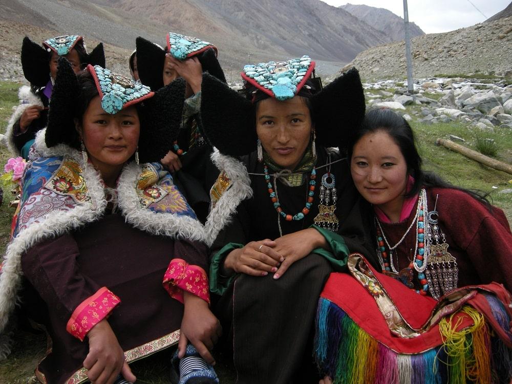 Habits traditionnels du Ladakh