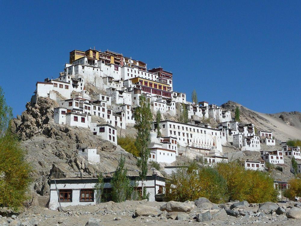 Monastère de Likir Gompa - trek au Ladakh