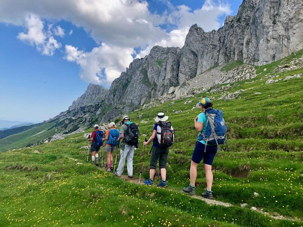 Randonnée dans les montagnes de Bucegi - séjour trekking Roumanie