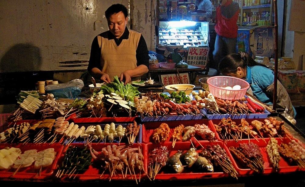 Street Food Sichuan - voyage trek Chine