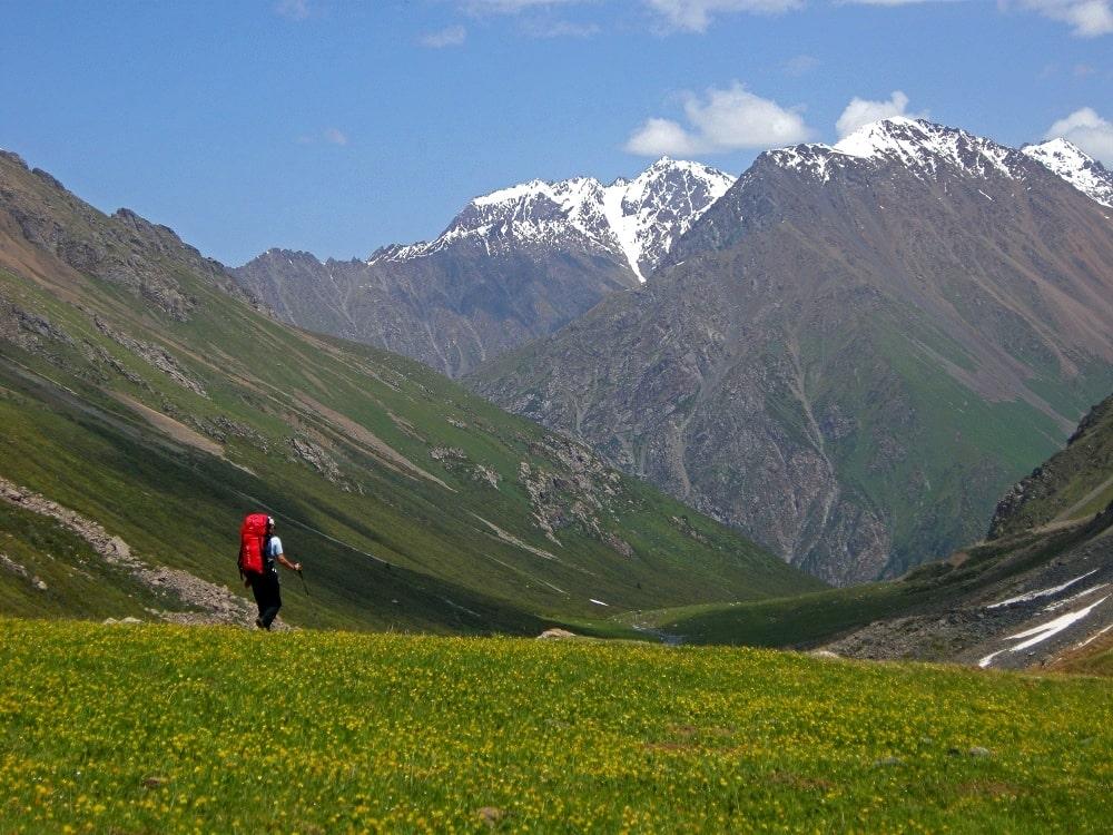 Trek à Ala Too Kirghizistan - Watse
