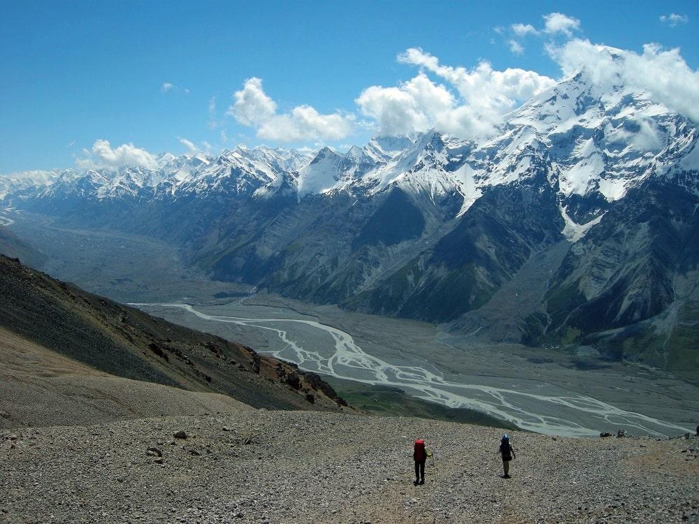 Trek à Inylchek Kirghizistan - Watse Trekking