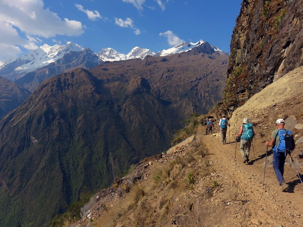 Trek dans la cordillere Vilcabamba