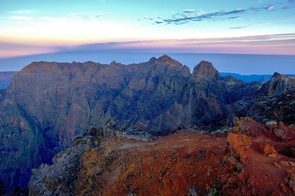 Trek ile de la Réunion : lever de soleil