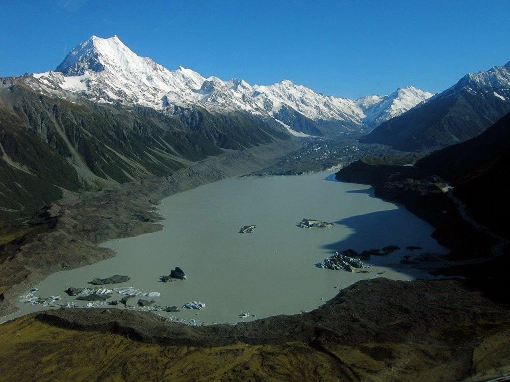 Trek vers le Mont Cook - Nouvelle Zélande