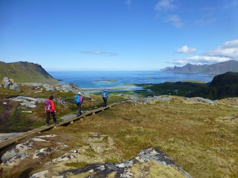Voyage randonnée dans les Îles Lofoten - Norvège