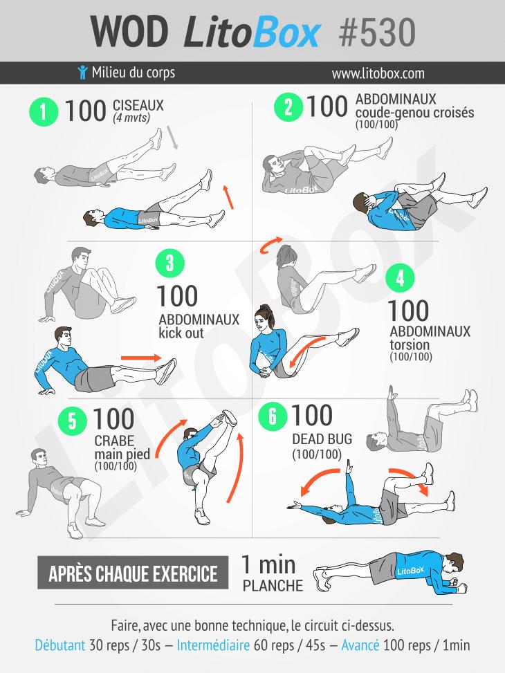 exercices abdos - muscler abdos - renforcer abdos