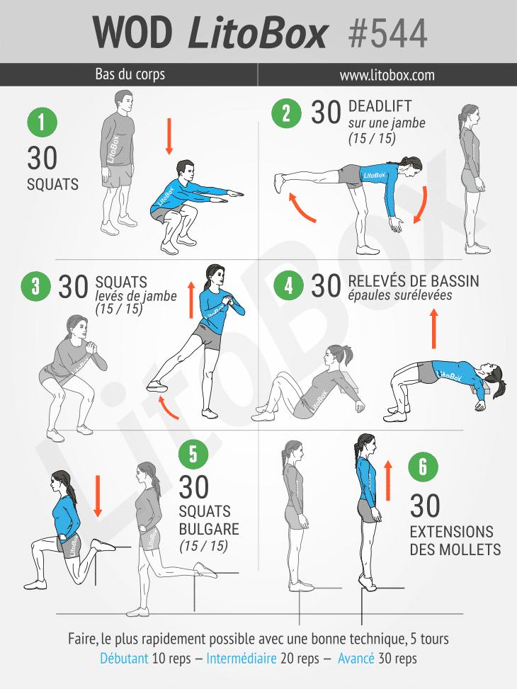 exercices jambes - renforcer jambes - muscler jambes