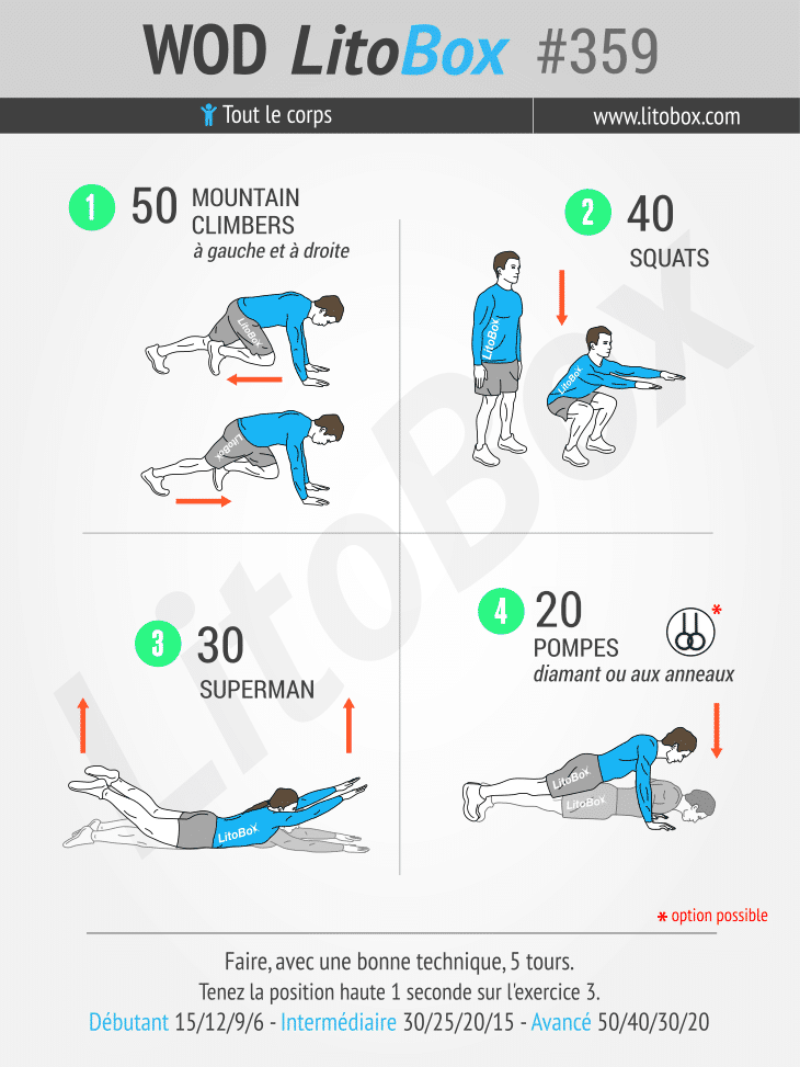 exercices renforcement musculaire