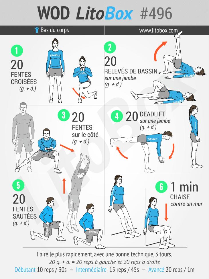 exercices jambes - muscler jambes - renforcer jambes