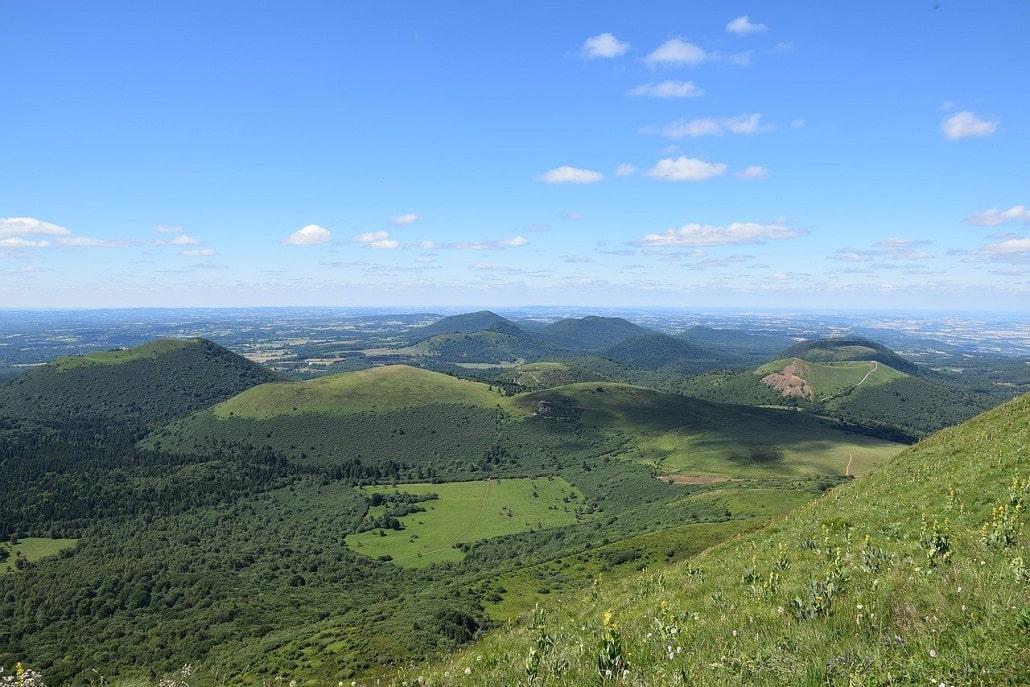 Le Tour des Volcans d'Auvergne