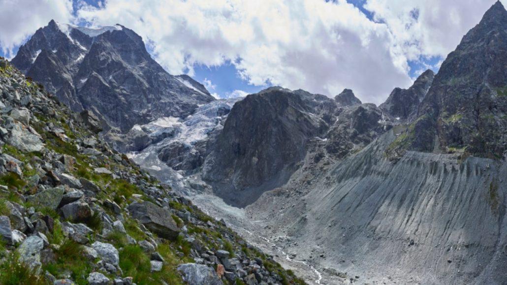 Tour du Cervin - glacier d'Arolla