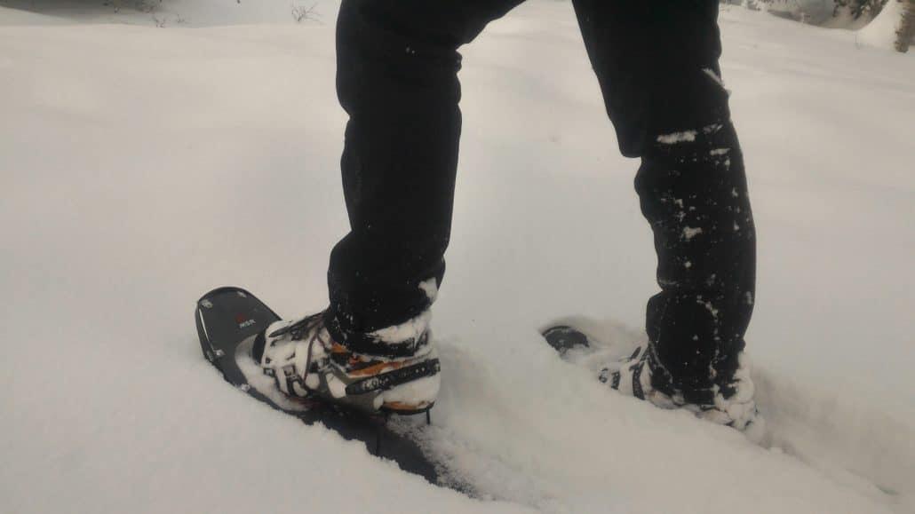 Quelles chaussures pour débuter les randonnées à raquettes ?