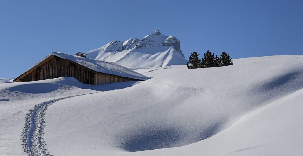 plateau des bénés, randonnée raquettes mont blanc