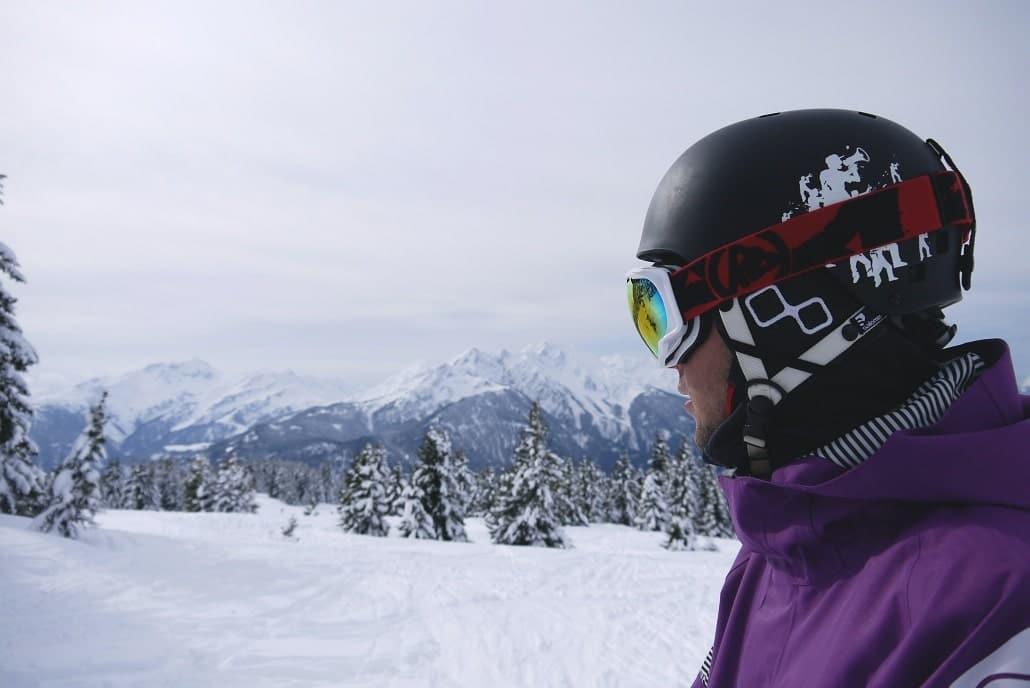 porter un casque en ski de randonnée