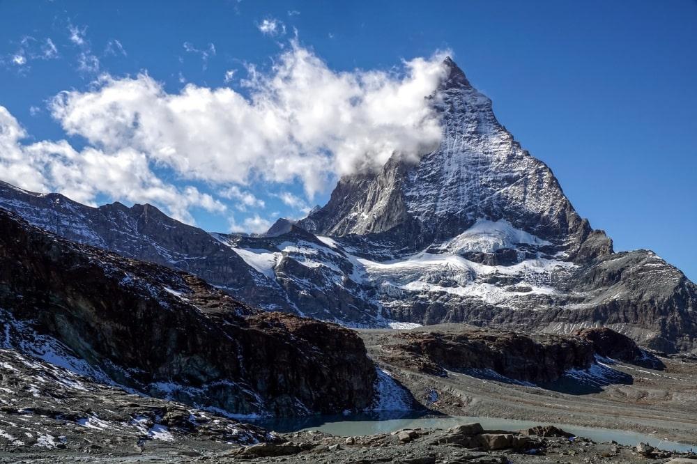tour du Cervin Matterhorn en trek