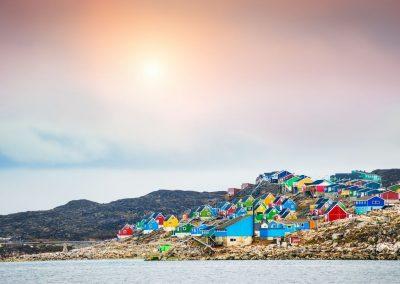voyage randonnée côte est groenland