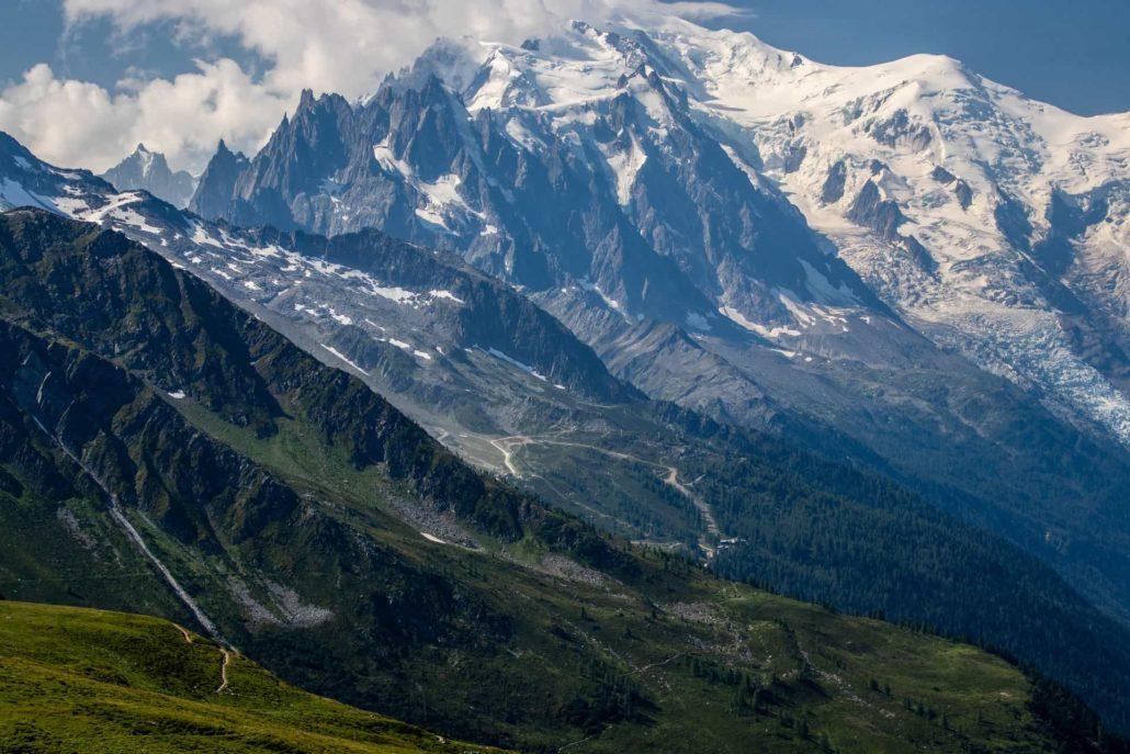 Grande Traversée des Alpes au départ de Chamonix, France