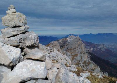 rochers empilés