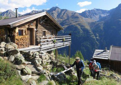 refuge dans le Tyrol