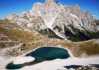 Vue aérienne lac