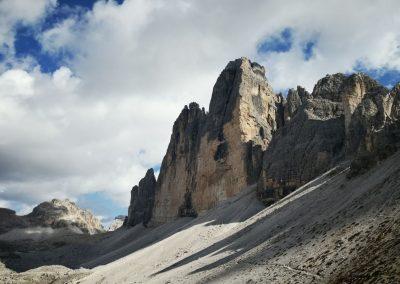 Falaises des Dolomites